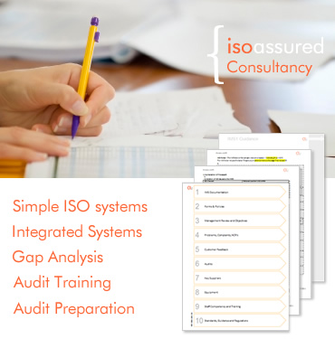 ISO systems consultancy